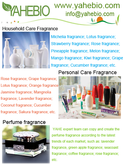 Fragrance oil for household care